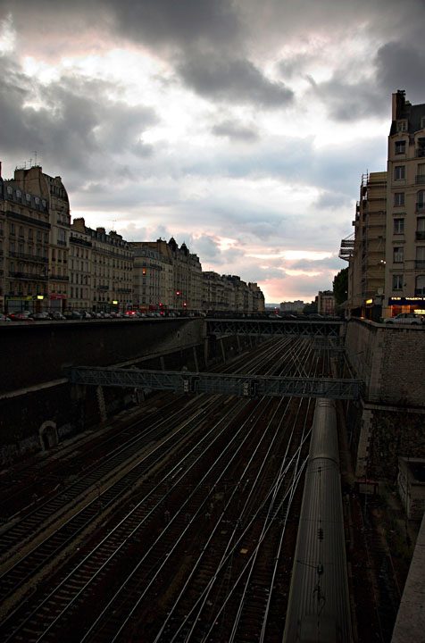 Train tracks (batignolles)