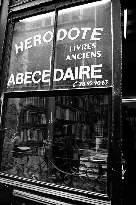 Book Shop in old Lyon