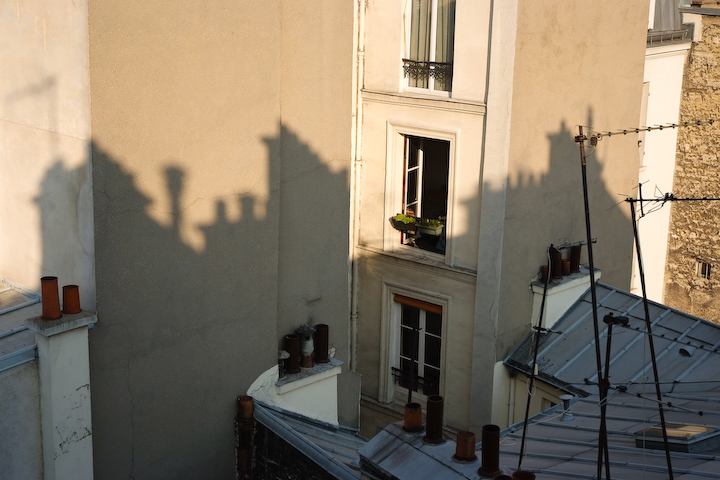 rooftops shadows