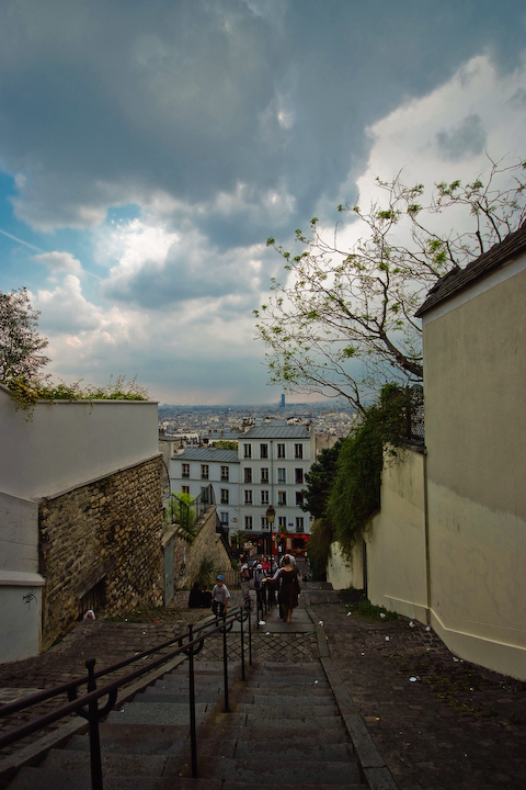 Montmartre/Stairs