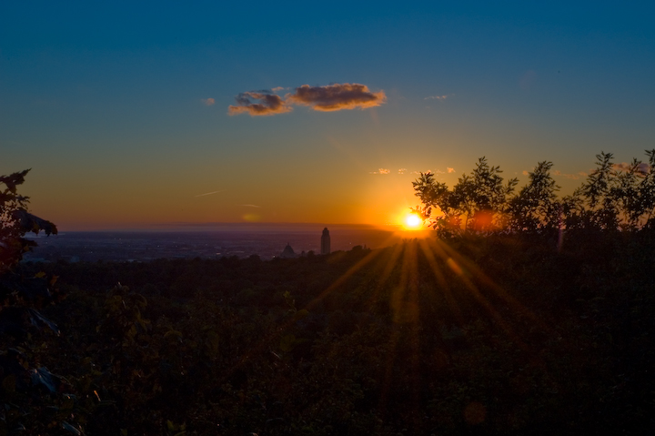 Sunset at Mont Royal