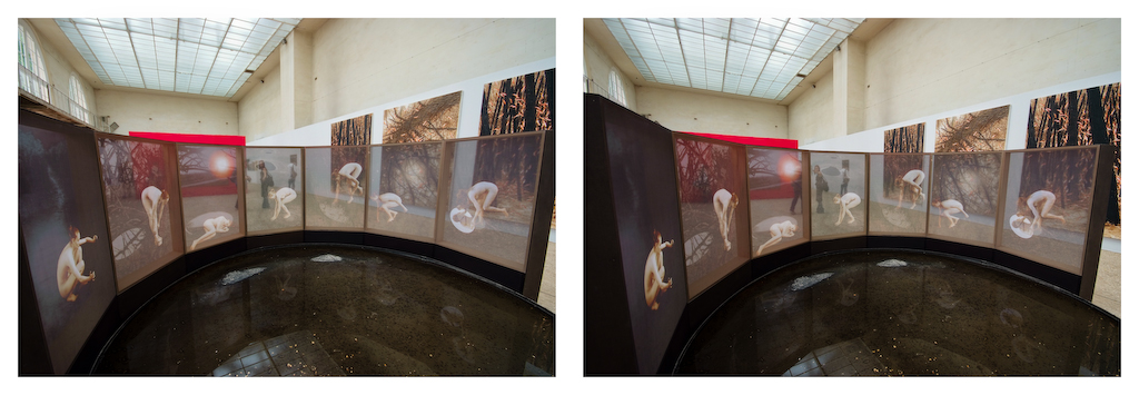 Stereo pic at the Orangerie