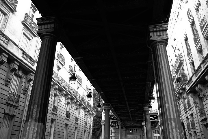 Under Bir Hakeim Bridge