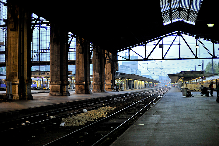 Austerlitz Train station
