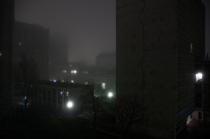 Another Cold and foggy night