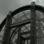 Greenhouse in 'jardin des plantes'